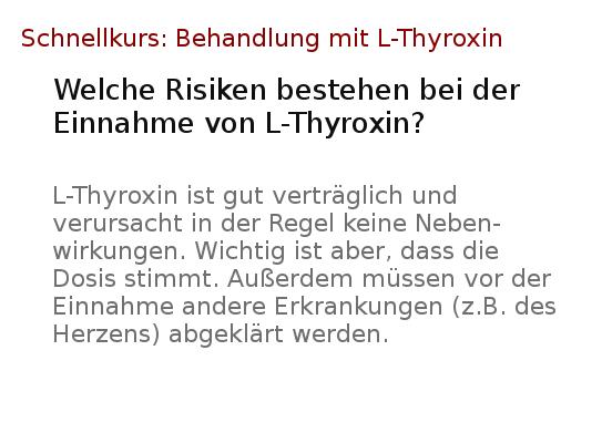Wie man Gewicht verliert, indem man Levothyroxin nimmt